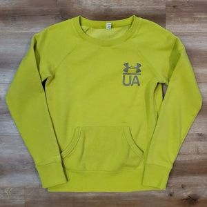 Under Armour Cold Gear Lime Green Sweatshirt